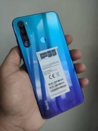 Celular Xiaomi Redmi Note 8 - 4GB Ram / 64GB Rom Global + Capinha - Caixa Lacrada
