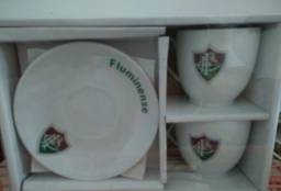 Conjunto Em Porcelana Oficial do Fluminense