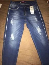Calça jeans (com etiqueta) nova 79,00