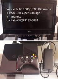 Tv LG + Xbox 360 super slim