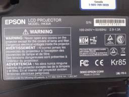Projetor - Epson PowerLite S12+ Preto H430A