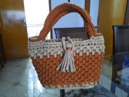 Bolsa croche artesanal
