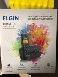 Telefone Elgin funcionando perfeitamente