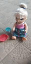 Baby Alive macarrão.