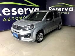 Fiat Uno 2018 com GNV