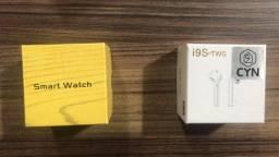 Smartwatch A1 + fone i9S