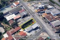 Terreno na Av. Sen. Salgado Filho (px. Correios CDD Uberaba) - 14m x 52m