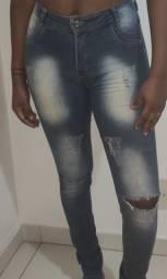 Calça Jeans Mix