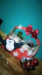 Arrajinhos de suculentas, para presentear nesse natal.