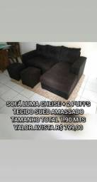 Sofa reforma fabricação