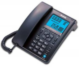 Telefone c/ visor lcd inbratele Preto