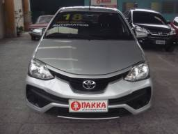 Toyota Etios XS Hatch 1.5 2018 Automático Único Dono !!