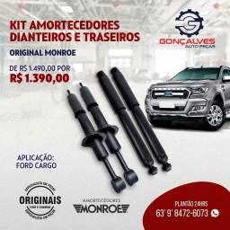 KIT AMORTECEDORES DIANTEIROS E TRASEIROS ORIGINAL
