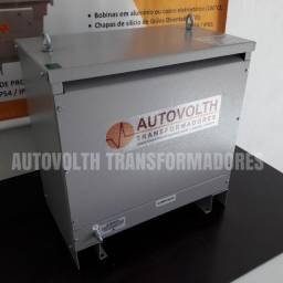 Autotransformador 30kVA trifásico 380v p/ 220v + N IP21