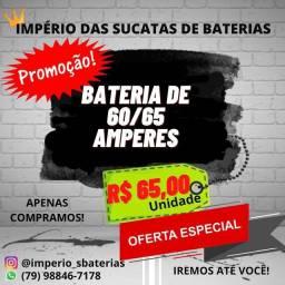 Título do anúncio: BATERIA NAO TA PRESTANDO MAIS $$$ PRA QUE GUARDAR