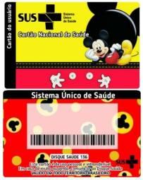 Título do anúncio: Cartão SUS personalizado