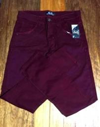 Calças Jeans e Sarjas masculina (com lycra)