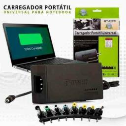 Carregador universal portátil para notebook