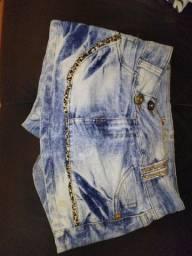 Short saia Jeans - n44