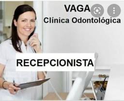 Título do anúncio: Recepcionista  - clínica odontológica