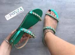 Rasteira rasteirinha sandália ponza