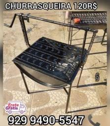 Título do anúncio:  promoção churrasqueira tambo brinde 2 saco Carvão entrega gratis %%#@!@