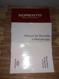 Título do anúncio: Manual Do Proprietário Kia Sorentocompleto