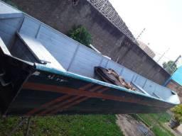 Título do anúncio: Canoa de 7 metros borda alta, toda soldada R$7.000