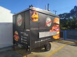 Título do anúncio: Venda hamburgueria mais Food Truck