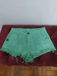Short verde Ex-b
