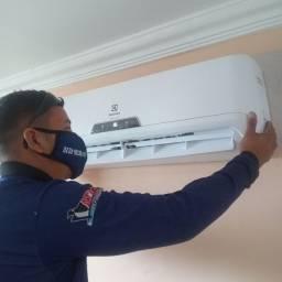 Título do anúncio: Refrigeração instalação manutenção limpeza serviços em domicílio