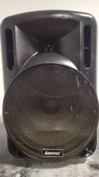 Título do anúncio: caixa de som amplificada amvox prime modelo ACA 280 280 watts