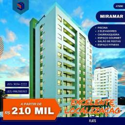 Apartamento para Venda em João Pessoa, Miramar, 1 dormitório, 1 suíte, 1 banheiro, 1 vaga