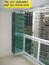 Título do anúncio: Fechamento de varanda cortina de vidro -  direto da fabrica - Pagto Ate 6x
