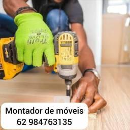 Título do anúncio: Montador de móveis barato goiania