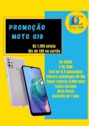 Moto G10 caixa lacrada nota e garantia de 1 ano