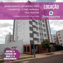 LOCAÇÃO | Apartamento, com 2 quartos em Vila Bosque, Maringá