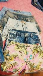 Troco shot jeans e calças  por alimentos