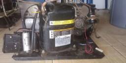 Unidade condensadora 1hp e 1/4