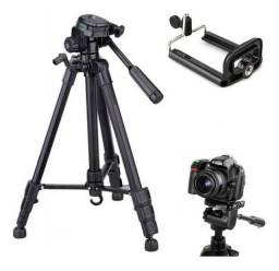 Título do anúncio: tripe para cameras fotográficas e filmagem canon Nikon sony fuji Panasonic