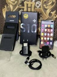SAMSUNG S10 PLUS 128GB PRETO
