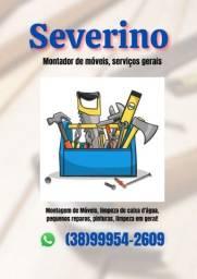 Título do anúncio: Serviços: Montagem de Móveis, Pinturas, reparos, limpezas em geral.