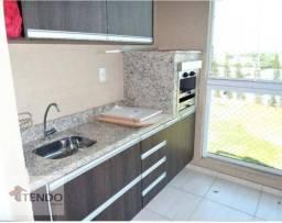 Apartamento com 3 dormitórios para alugar, 73 m² por R$ 2.000/mês - Aqui se Vive - Indaiat