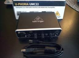 Interface U-PHORIA UMC22  behringer