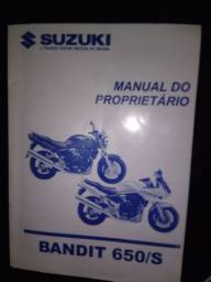Manual do proprietário Bandit