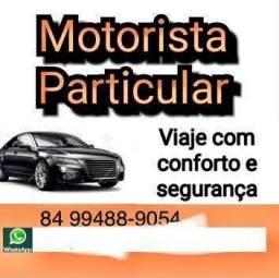 Título do anúncio: Motorista particular