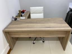 Título do anúncio: Mesa de trabalho 1,60 MDF - madeira laminada