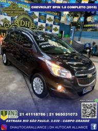 Título do anúncio: Chevrolet Spin 1.8 Lt At Completo c/GNV 2015