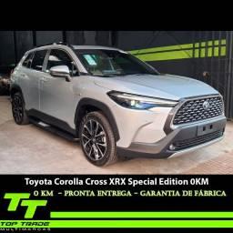 Título do anúncio: Toyota Corolla Cross XRX 1.8 Fex + Hibryd Special Edition 2022 0KM