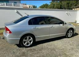 Honda Civic 2008 pego entrada 5.000 sem trocas